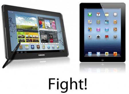 Чтобы у Galaxy Note 10.1 было больше шансов в борьбе с iPad, Samsung решила улучшить CPU планшета