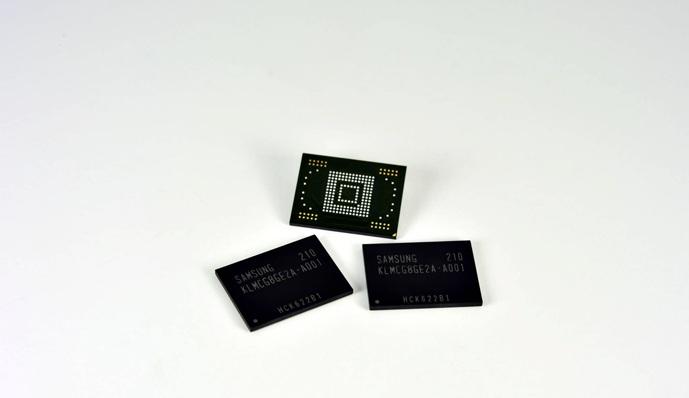 Samsung запускает в производство модули памяти EMMC Pro Class 1500
