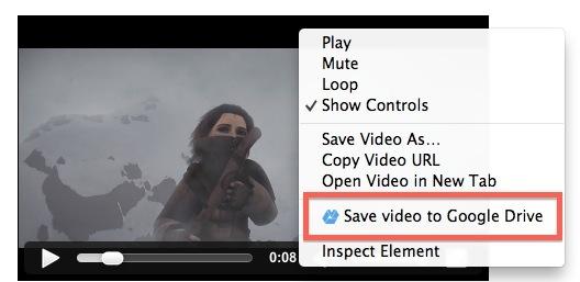 Save to Drive мгновенно отправляет изображения, аудио и видео в Google Drive