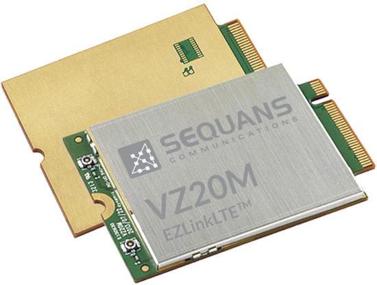 Модули EZLinkLTE VZ20M и VZ21M выполнены в типоразмере M.2