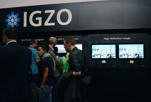 Sharp будет поставлять панели IGZO компаниям Sony, Fujitsu и ASUS