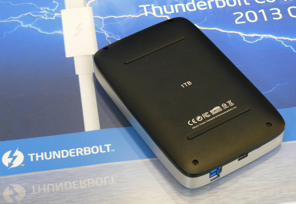 Внешний HDD Silicon Power с поддержкой Thunderbolt