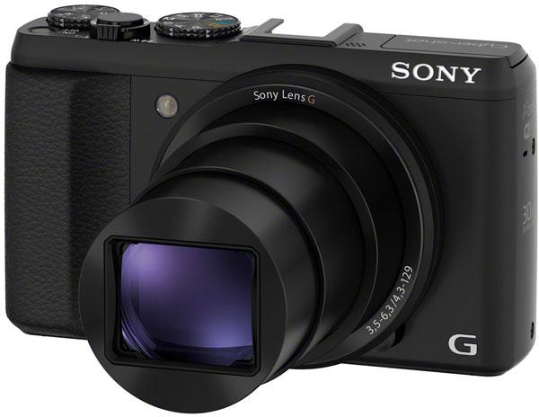 Разрешение Sony Cyber-shot HX50V равно 20,4 Мп
