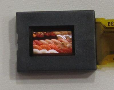 В Sony рассчитывают начать поставки новых панелей OLED размером 0,23 дюйма по диагонали в будущем году