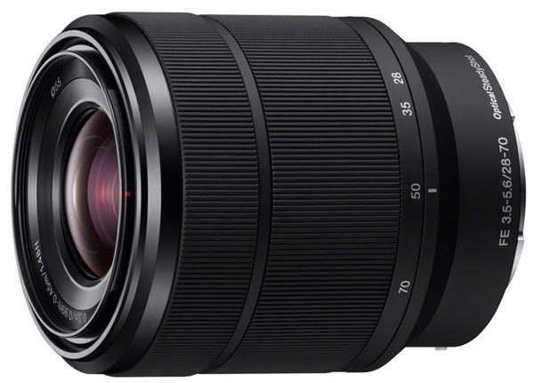 Sony представила пять первых полнокадровых объективов с байонетом Sony E