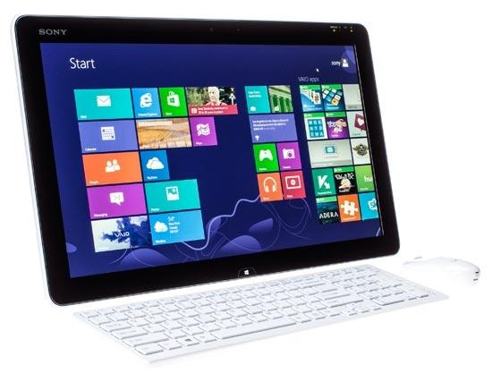 Sony выпустила 20 дюймовый планшет с Windows 8