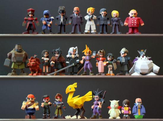 Square Enix запретила художнику продавать отпечатанные 3D фигурки персонажей Final Fantasy VII