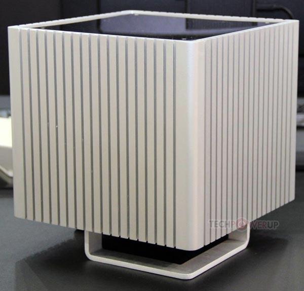 Корпус для мини-ПК Streacom DB4 одновременно служит радиатором для CPU