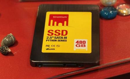 SSD Strontium Python объемом 480 ГБ