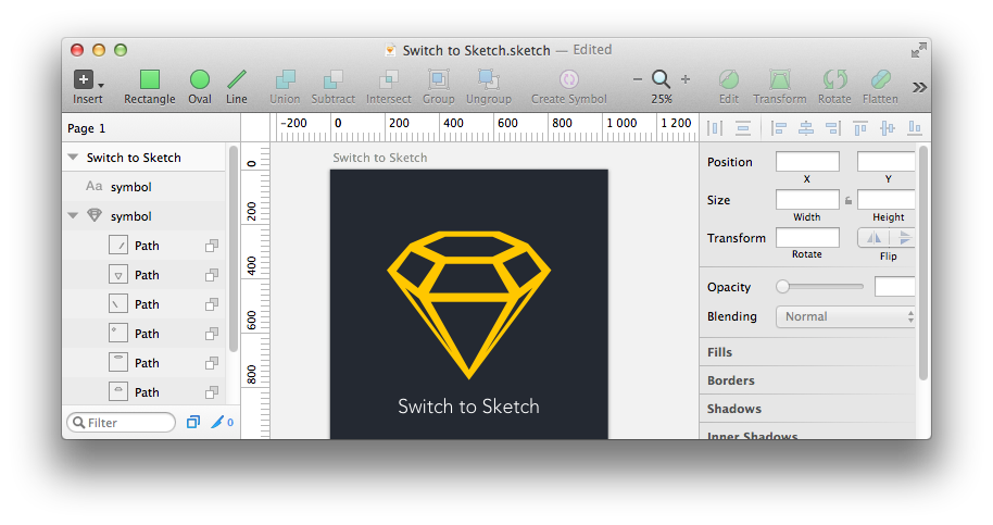 Switch to Sketch. Часть 2
