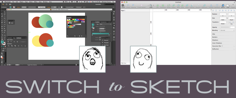 Switch to Sketch. Часть 3