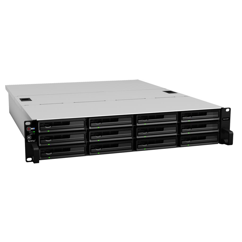 Synology RS2414+/RS2414RP+ производительный и масштабируемый NAS сервер