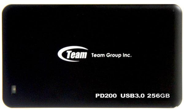 Объем внешнего твердотельного накопителя Team Group PD200 достигает 256 ГБ