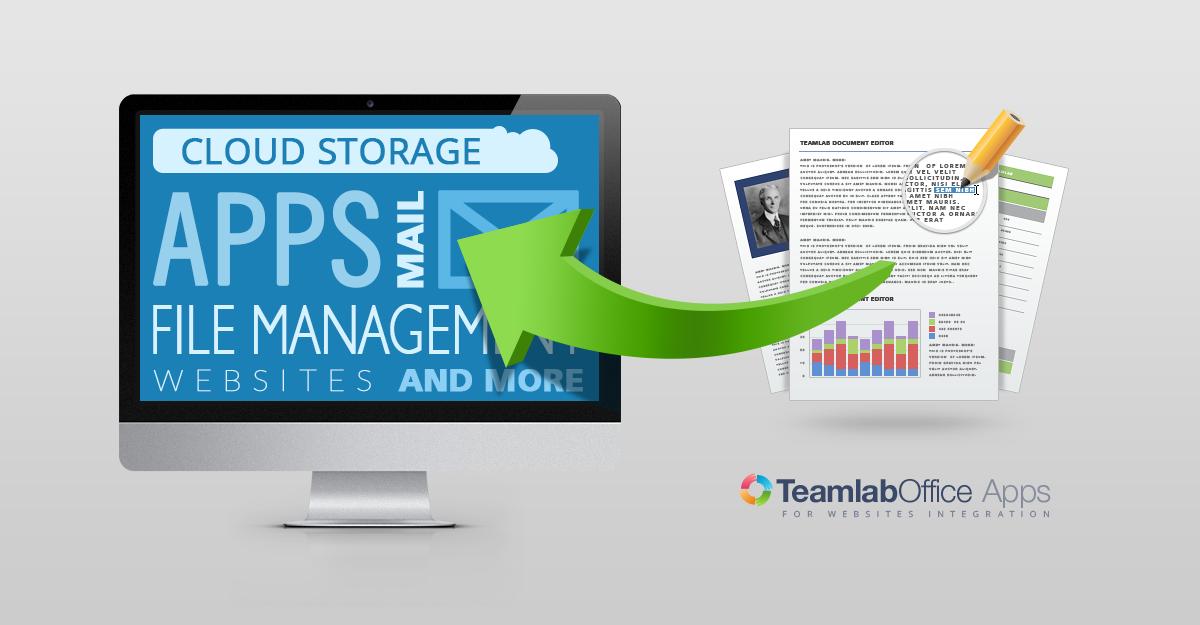 Teamlab бесплатно раздает API для интеграции офисных приложений и позволяет развернуть их на своем сервере