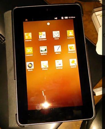 Tizen запустили на Nexus 7 3G (видео)
