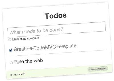 TodoMVC — «Hello, world» на стероидах