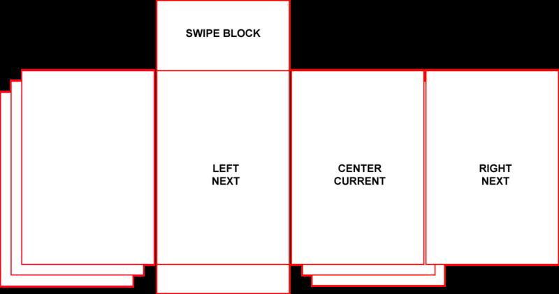 Touch web: Swipe