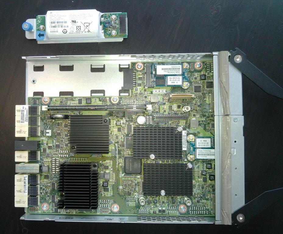 Вид изнутри NetApp E2700