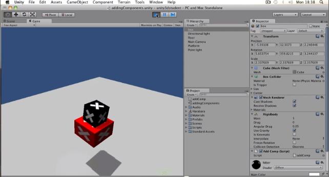 Unity3d. Уроки от Unity 3D Student (B13 B16)