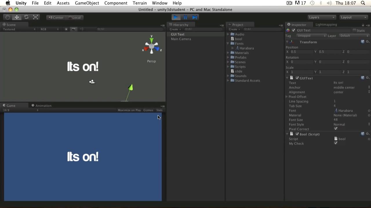 Unity3d. Уроки от Unity 3D Student (B17 B20)