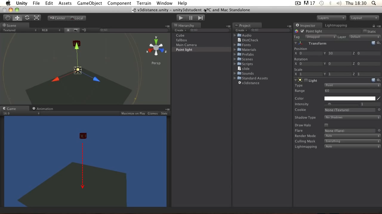 Unity3d. Уроки от Unity 3D Student (B21 B24)