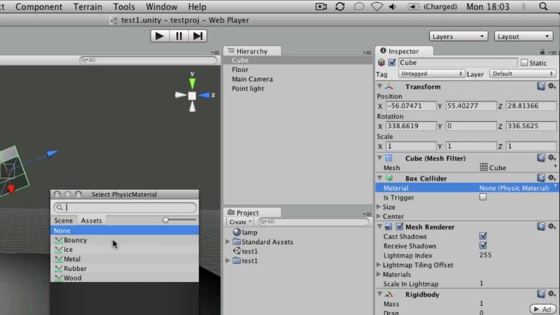 Unity3d. Уроки от Unity 3D Student
