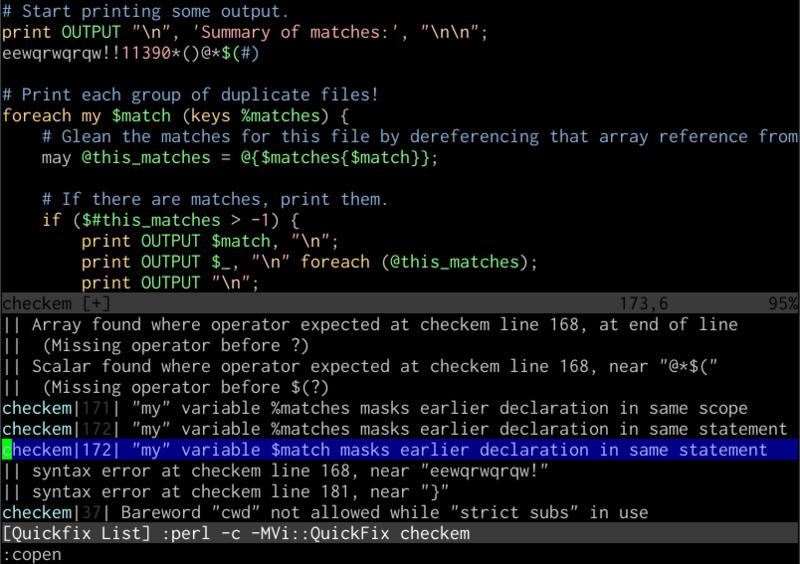 Unix как IDE: Работа с текстом