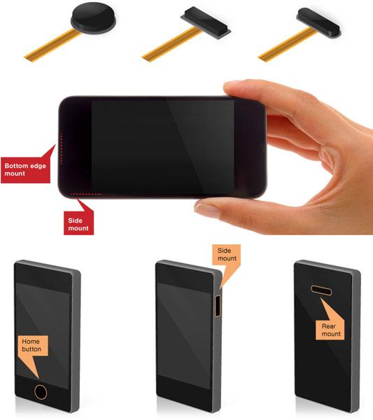Запатентованная архитектура Mobile Natural ID Platform позволяет выпускать дактилоскопические датчики разных размеров, форм и цветов