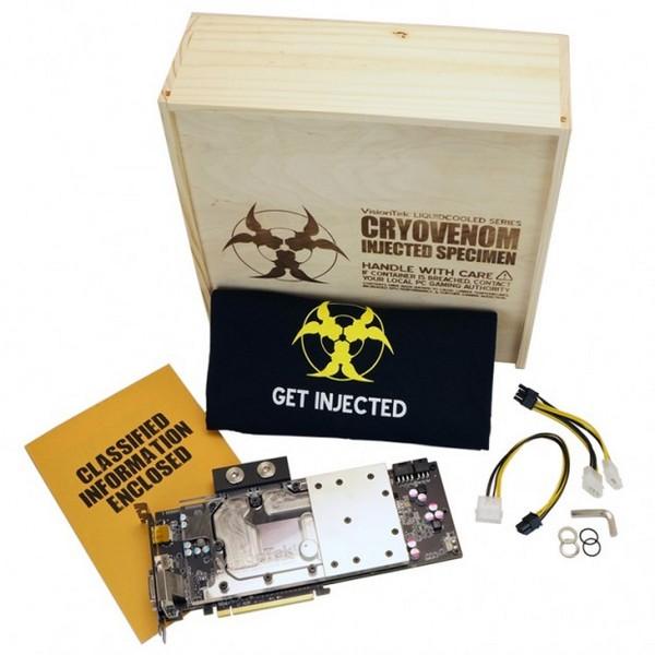 VisionTek CryoVenom R9 290 Limited Edition