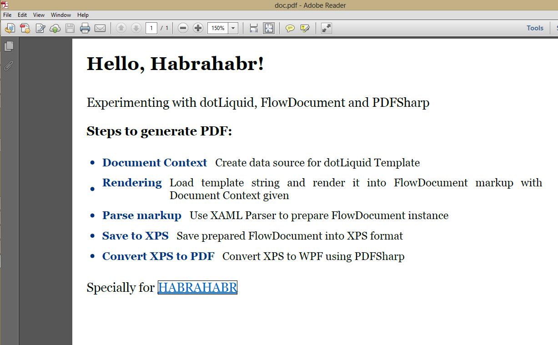 WPF > PDF через PDFSharp.Xps: чиним вывод гиперссылок