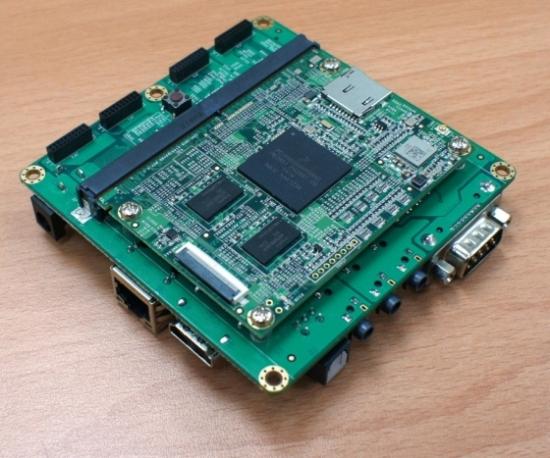 Wandboard Freescale i.MX6 — мини ПК для разработчика за 69 у.е