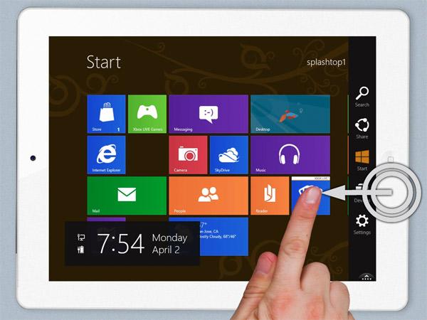 Windows 8 и приложение на iPad