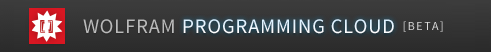 Wolfram Programming Cloud