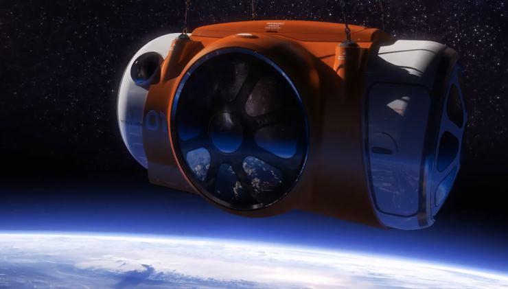 World View: стратосферный туризм на воздушном (гелиумном) шаре