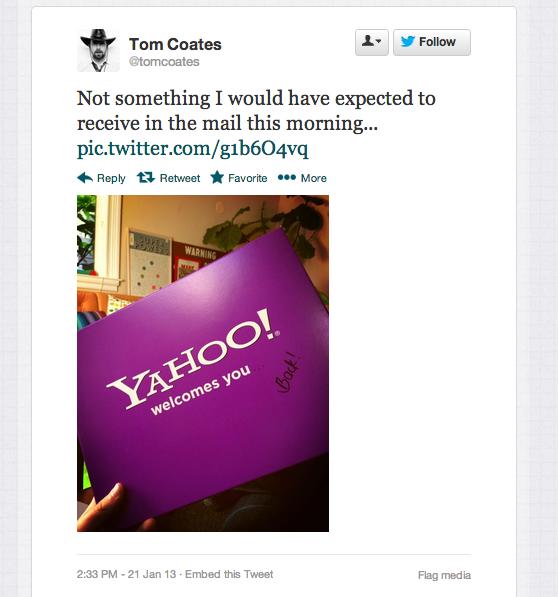 Yahoo рассылает бывшим сотрудникам посылки с просьбой вернуться