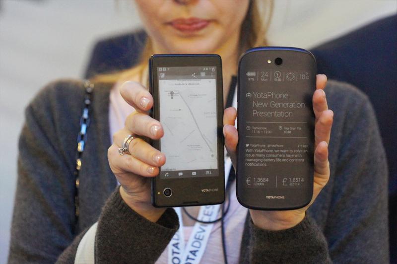 Yota Devices представила второе поколение смартфона с двумя экранами YotaPhone