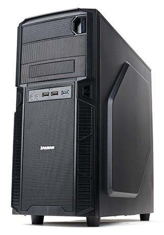 Корпус Zalman ZM-Z1 относится к категории mid-tower