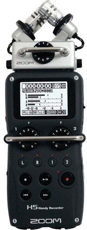 В комплект поставки Zoom H5 войдет стереофонический микрофонный модуль XY