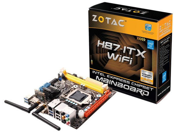 Zotac H87-ITX WiFi