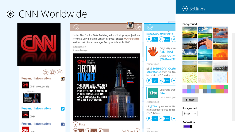 Агрегатор социальных сетей Meople.Net теперь доступен на Windows 8