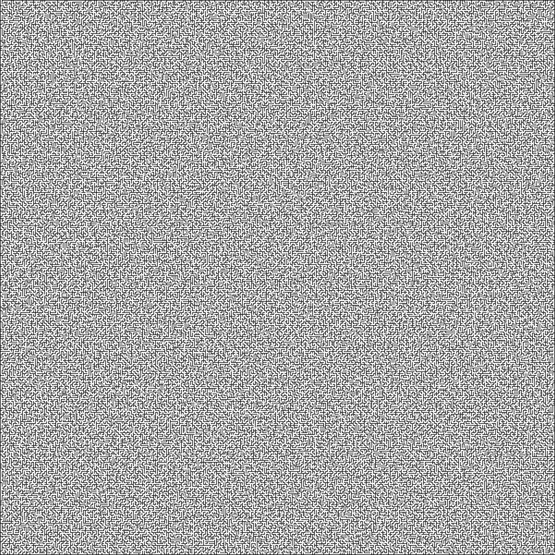 Алгоритм поиска путей в лабиринте