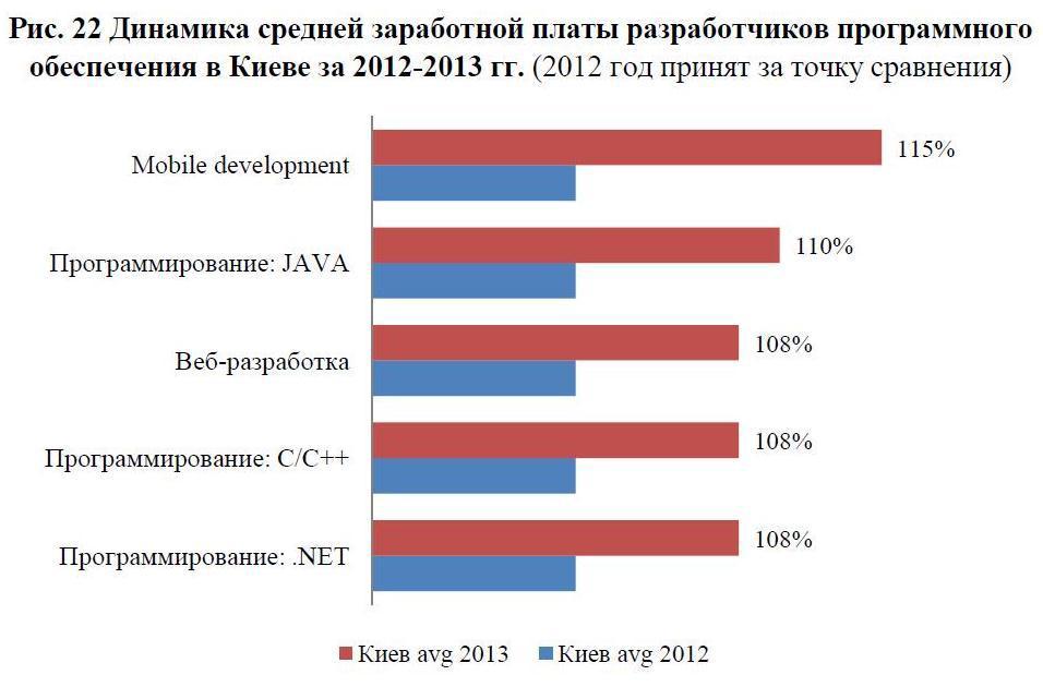 Аналитический обзор рынка труда IT специалистов в Украине за 2013 год