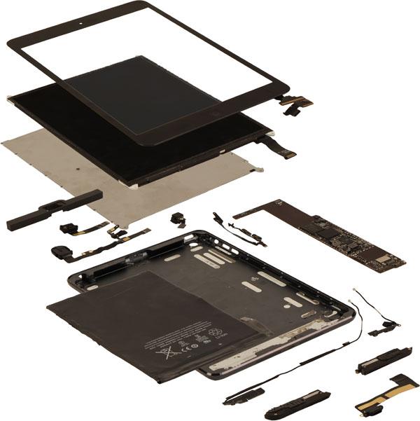 Себестоимость планшета Apple iPad mini — не менее $188