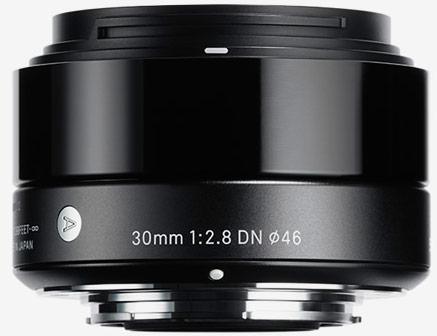 Объектив Sigma 30mm F2.8 DN будет выпускаться в вариантах для камер систем Micro Four Thirds и Sony E-mount