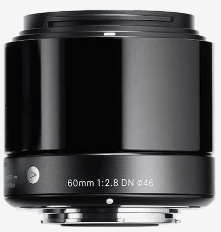 Анонсирован объектив Sigma 60mm F2.8 DN