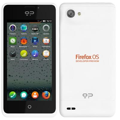 Анонсирован выход смартфонов «Firefox OS developer preview»