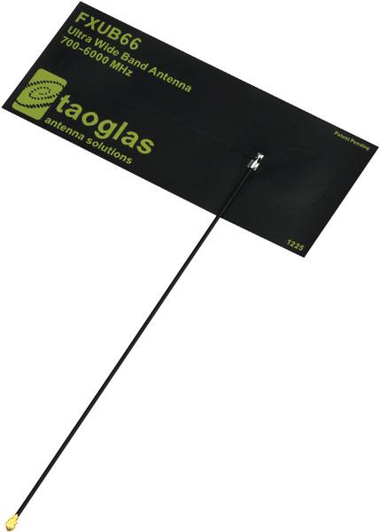 Новые антенны Taoglas работают в диапазоне частот 700-6000 МГц