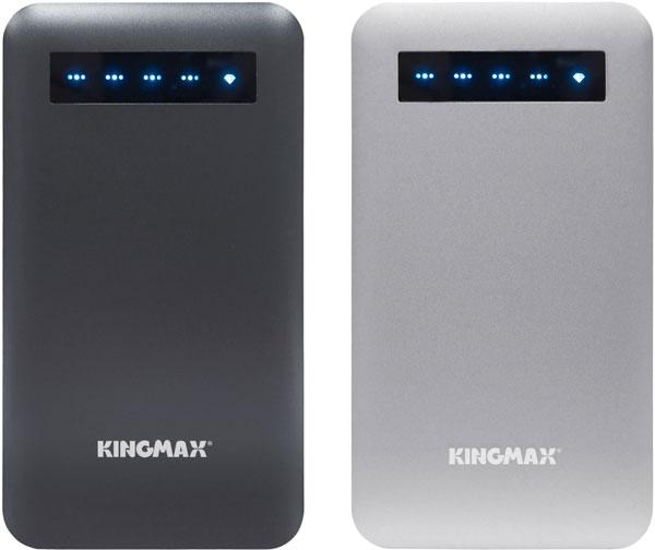 Емкость внешних аккумуляторов Kingmax KEBG-M03 и KEBG-M02 равна 8000 мА∙ч и 6000 мА∙ч соответственно