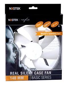 140-миллиметровый корпусной вентилятор Nexus серии Real Silent получил обозначение D14SL