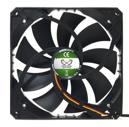 Ассортимент корпусных вентиляторов Scythe пополнился моделями серии Slip Stream 140XT
